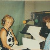 Lynn Chester and Sydney Swire