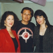 Mara Purl, Michael Horse and Marcy McFee record