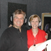 Roger and Terry recording