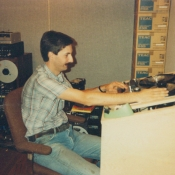 Engineer Bill Berkuta at After Hours Recording